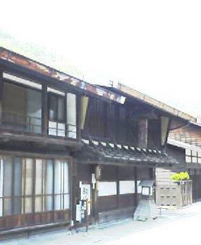 奈良井宿にて